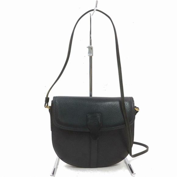 Burberry Handbags - Auth Burberry Black Leather Small #2401B51